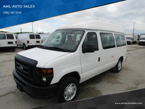 2011 Ford E-Series Cargo for sale at AML AUTO SALES - Passenger Vans in Opa-Locka FL