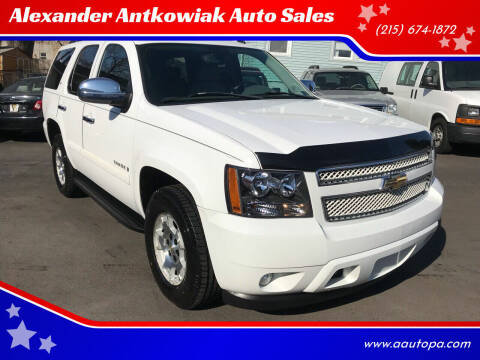 2007 Chevrolet Tahoe for sale at Alexander Antkowiak Auto Sales in Hatboro PA
