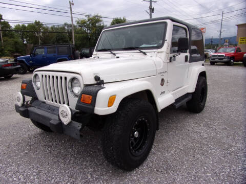 2001 Jeep Wrangler for sale at RAY'S AUTO SALES INC in Jacksboro TN