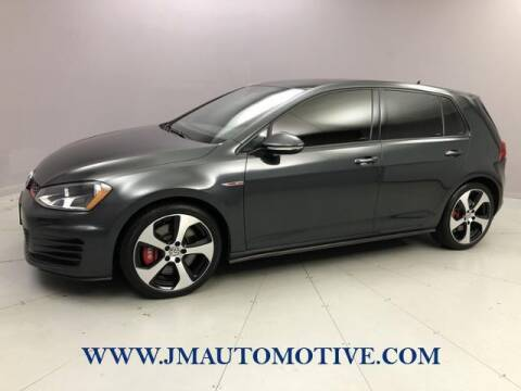2015 Volkswagen Golf GTI for sale at J & M Automotive in Naugatuck CT