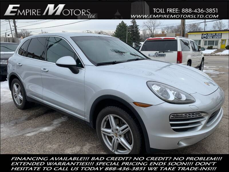 2011 Porsche Cayenne for sale at Empire Motors LTD in Cleveland OH