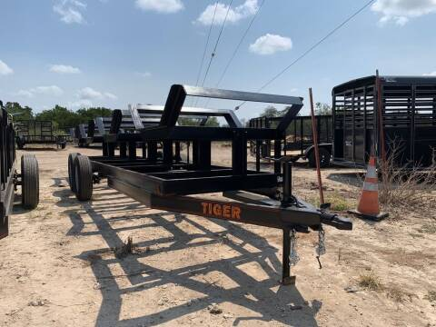 2021 TIGER  -4 BALE HAY BUGGY 48'' X 20'  for sale at LJD Sales in Lampasas TX