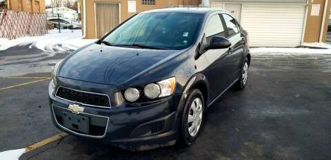 2013 Chevrolet Sonic for sale at Cleveland Avenue Autoworks in Columbus OH