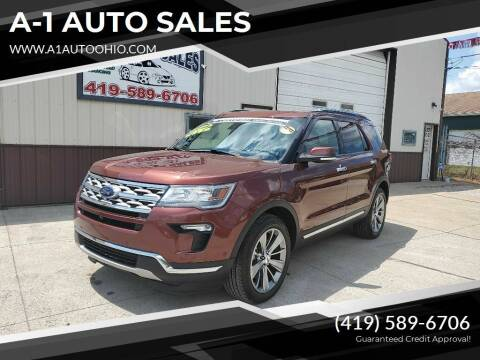 2018 Ford Explorer for sale at A-1 AUTO SALES - Certified Pre-Owned in Mansfield OH