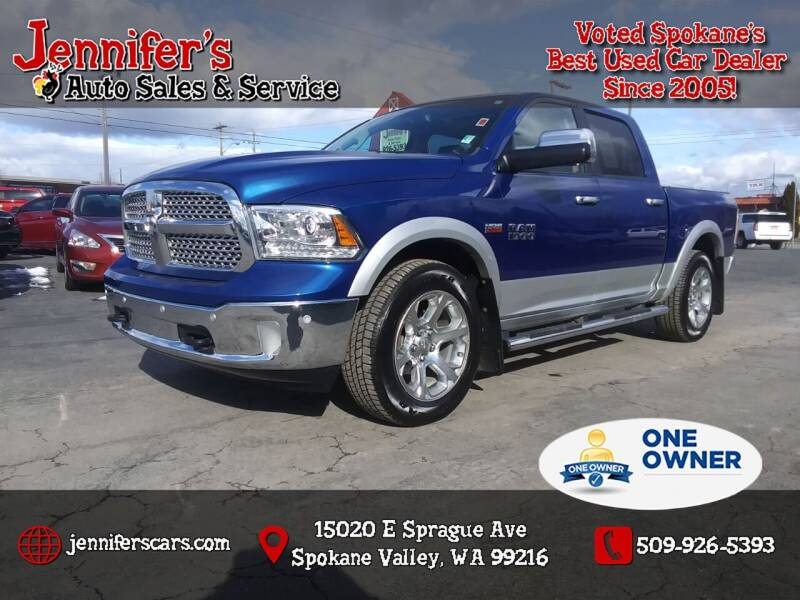 2014 RAM Ram Pickup 1500 for sale at Jennifer's Auto Sales in Spokane Valley WA