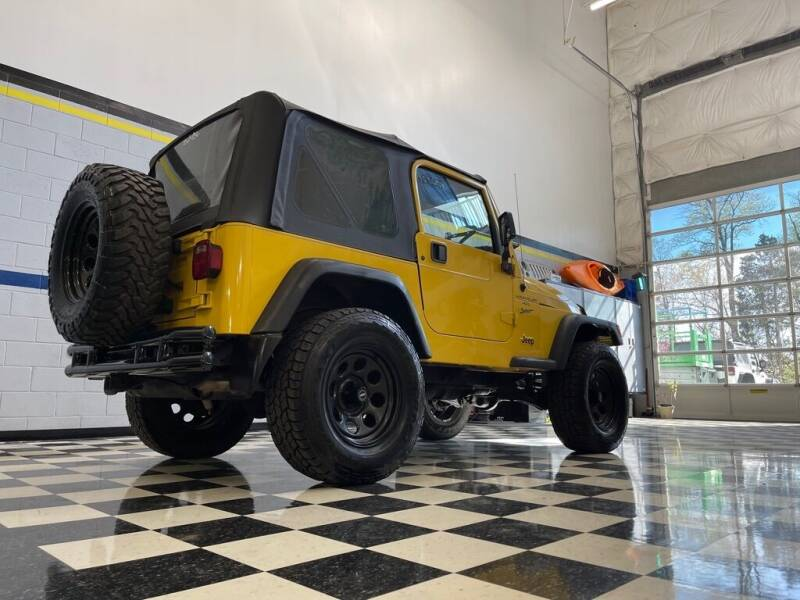 2000 Jeep Wrangler for sale at Euro Auto Sport in Chantilly VA