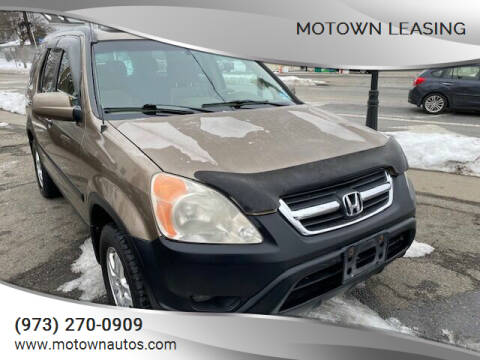 2004 Honda CR-V for sale at Motown Leasing in Morristown NJ