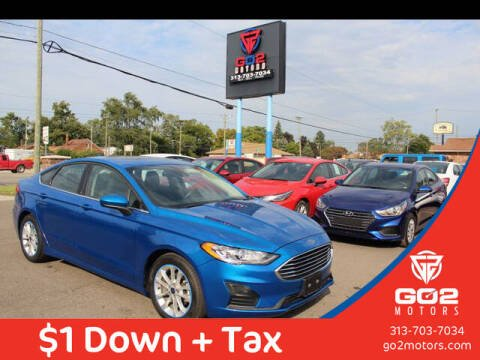 2020 Ford Fusion for sale at Go2Motors in Redford MI