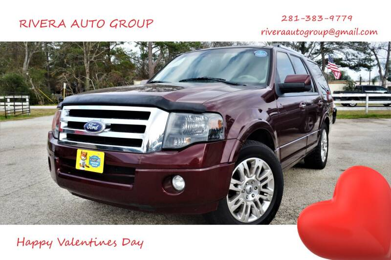 2011 Ford Expedition for sale at Rivera Auto Group in Spring TX