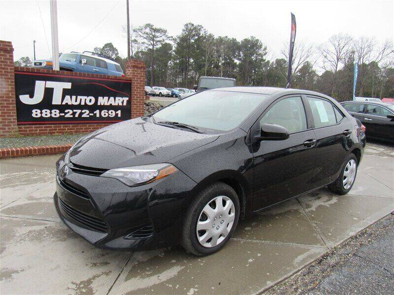 2017 Toyota Corolla for sale at J T Auto Group in Sanford NC