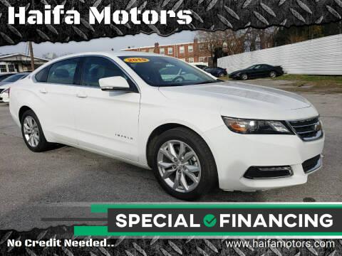 2019 Chevrolet Impala for sale at Haifa Motors in Philadelphia PA