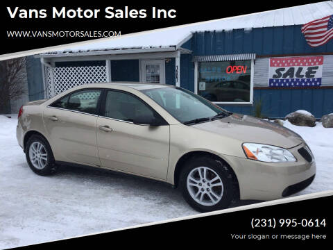 2006 Pontiac G6 for sale at Vans Motor Sales Inc in Traverse City MI