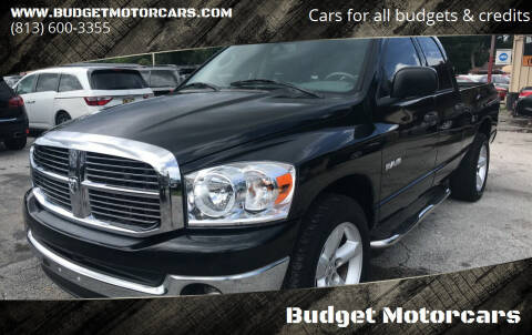 2008 Dodge Ram Pickup 1500 for sale at Budget Motorcars in Tampa FL