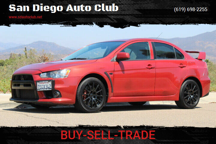 2008 Mitsubishi Lancer Evolution for sale at San Diego Auto Club in Spring Valley CA