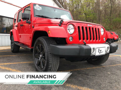 2015 Jeep Wrangler Unlimited for sale at EZ Auto Group LLC in Lewistown PA