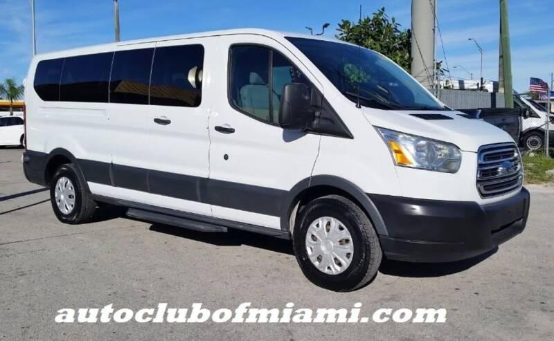 2015 Ford Transit Passenger for sale at AUTO CLUB OF MIAMI, INC in Miami FL