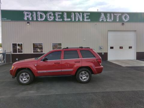 2006 Jeep Grand Cherokee for sale at RIDGELINE AUTO in Chubbuck ID