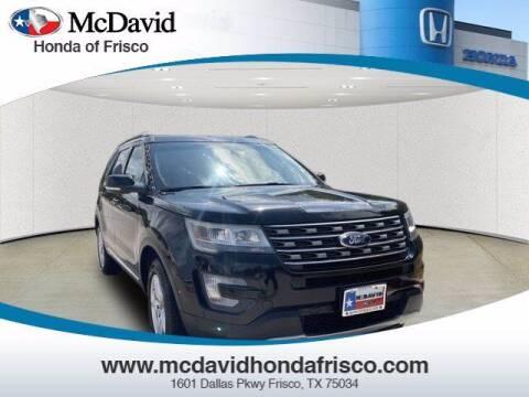 2016 Ford Explorer for sale at DAVID McDAVID HONDA OF IRVING in Irving TX