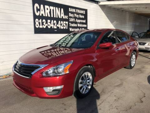 2015 Nissan Altima for sale at Cartina in Tampa FL