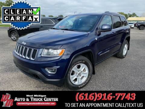 2014 Jeep Grand Cherokee for sale at West Michigan Auto and Truck Center in Cedar Springs MI