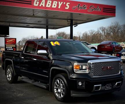2014 GMC Sierra 1500 for sale at GABBY'S AUTO SALES in Valparaiso IN