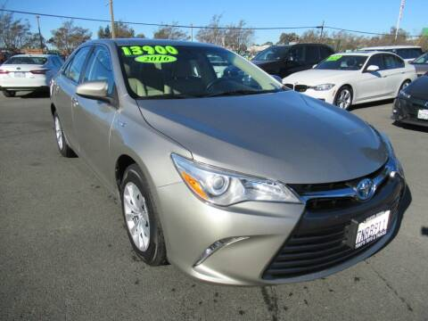 2016 Toyota Camry Hybrid for sale at Tonys Toys and Trucks in Santa Rosa CA