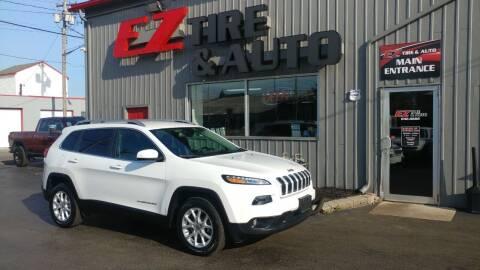 2017 Jeep Cherokee for sale at EZ Tire & Auto in North Tonawanda NY