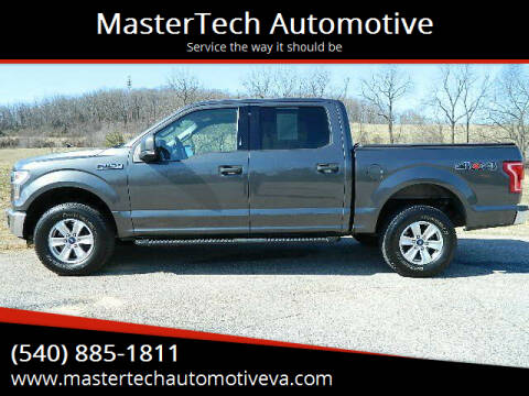 2016 Ford F-150 for sale at MasterTech Automotive in Staunton VA