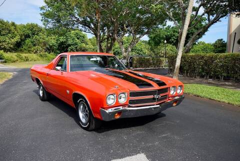 1970 Chevrolet El Camino for sale at Sunshine Classics, LLC in Boca Raton FL