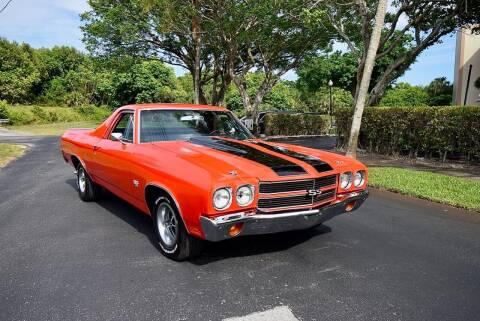 1970 Chevrolet El Camino for sale at Sunshine Classics, LLC in Boca Raton FL