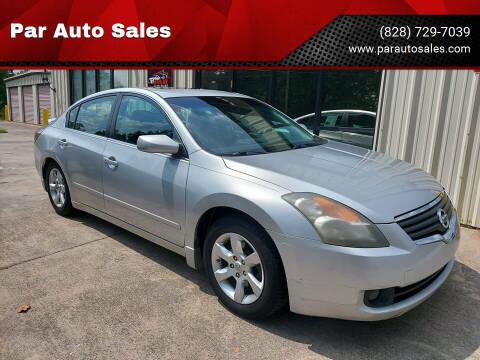 2007 Nissan Altima for sale at Par Auto Sales in Lenoir NC