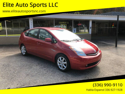2009 Toyota Prius for sale at Elite Auto Sports LLC in Wilkesboro NC
