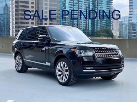 2017 Land Rover Range Rover for sale at Motor Co in Atlanta GA