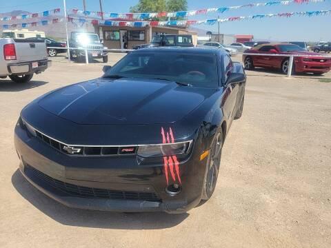 2014 Chevrolet Camaro for sale at Bickham Used Cars in Alamogordo NM