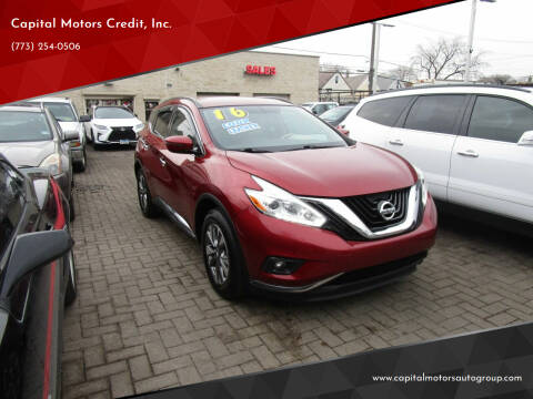2016 Nissan Murano for sale at Capital Motors Credit, Inc. in Chicago IL