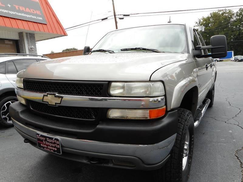 2002 Chevrolet Silverado 2500HD for sale at Super Sports & Imports in Jonesville NC
