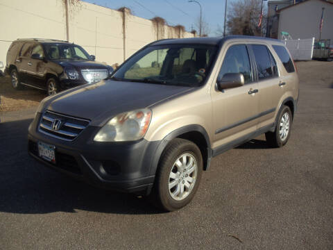 2005 Honda CR-V for sale at Metro Motor Sales in Minneapolis MN