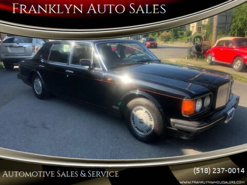 1992 Bentley Turbo R for sale at Franklyn Auto Sales in Cohoes NY