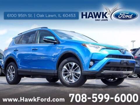 2018 Toyota RAV4 Hybrid for sale at Hawk Ford of Oak Lawn in Oak Lawn IL