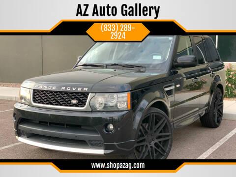 2011 Land Rover Range Rover Sport for sale at AZ Auto Gallery in Mesa AZ