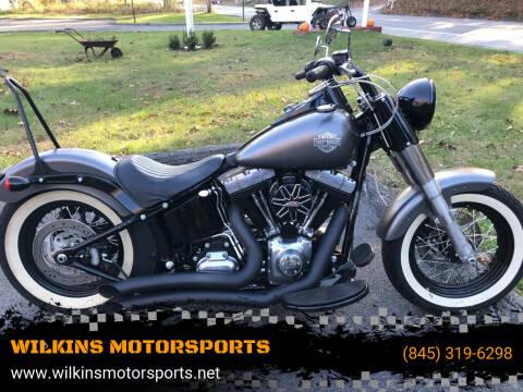 2014 Harley-Davidson Softail Slim for sale at WILKINS MOTORSPORTS in Brewster NY