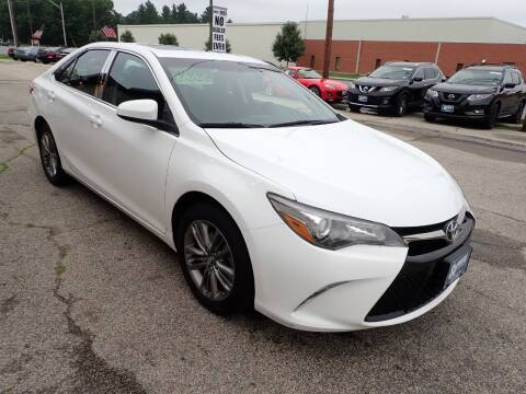 2016 Toyota Camry for sale at S & J Motor Co Inc. in Merrimack NH
