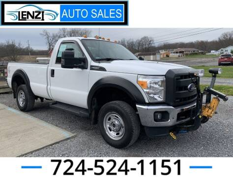 2014 Ford F-250 Super Duty for sale at LENZI AUTO SALES in Sarver PA
