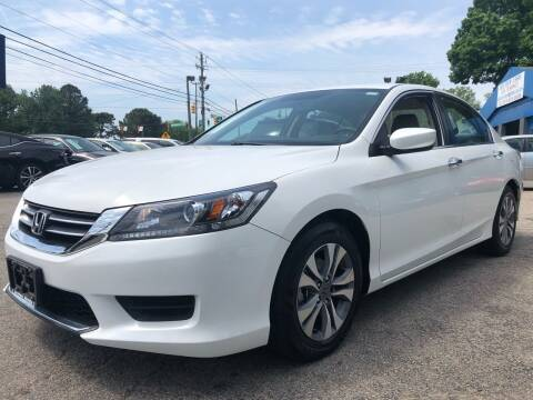 2015 Honda Accord for sale at Capital Motors in Raleigh NC