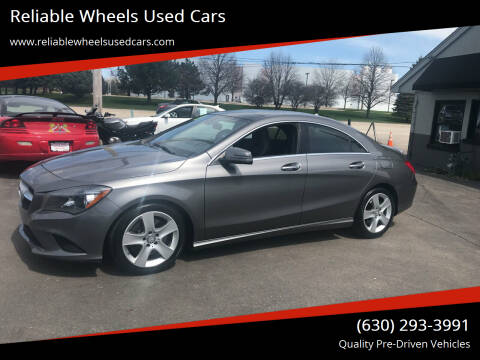 2015 Mercedes-Benz CLA for sale at Reliable Wheels Used Cars in West Chicago IL