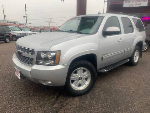 2011 Chevrolet Tahoe for sale at Nations Auto Inc. in Denver CO