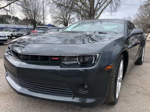 2015 Chevrolet Camaro for sale at Atlantic Auto Sales in Garner NC