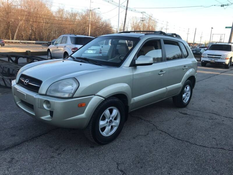 2006 Hyundai Tucson for sale at Atlantic AutoCenter in Cranston RI