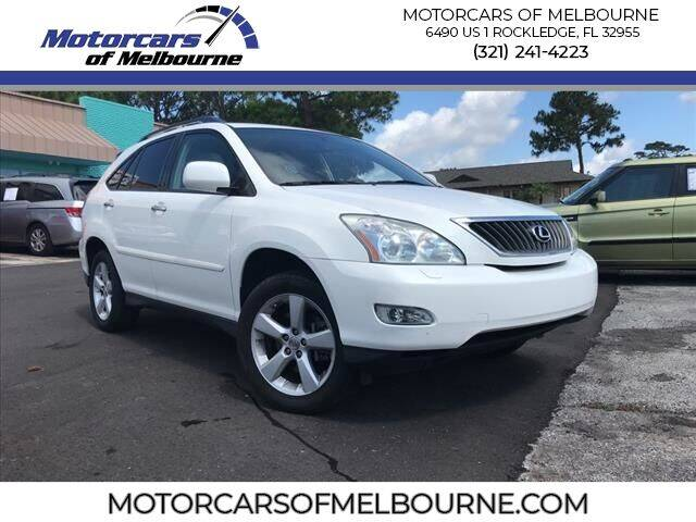 2008 Lexus RX 350 for sale at Motorcars of Melbourne in Rockledge FL