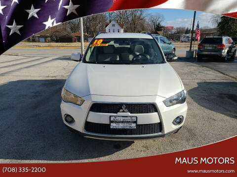 2010 Mitsubishi Outlander for sale at MAUS MOTORS in Hazel Crest IL